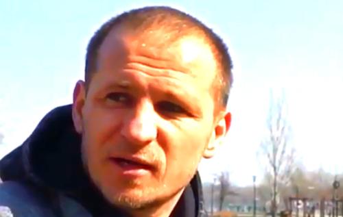 """Экс-игрок """"Динамо"""" оскандалился из-за снятого в супермаркете ролика. ВИДЕО"""