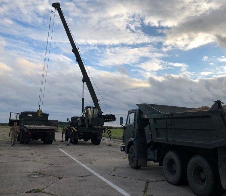 На Житомирщині пройшли авіаційні навчання ЗСУ