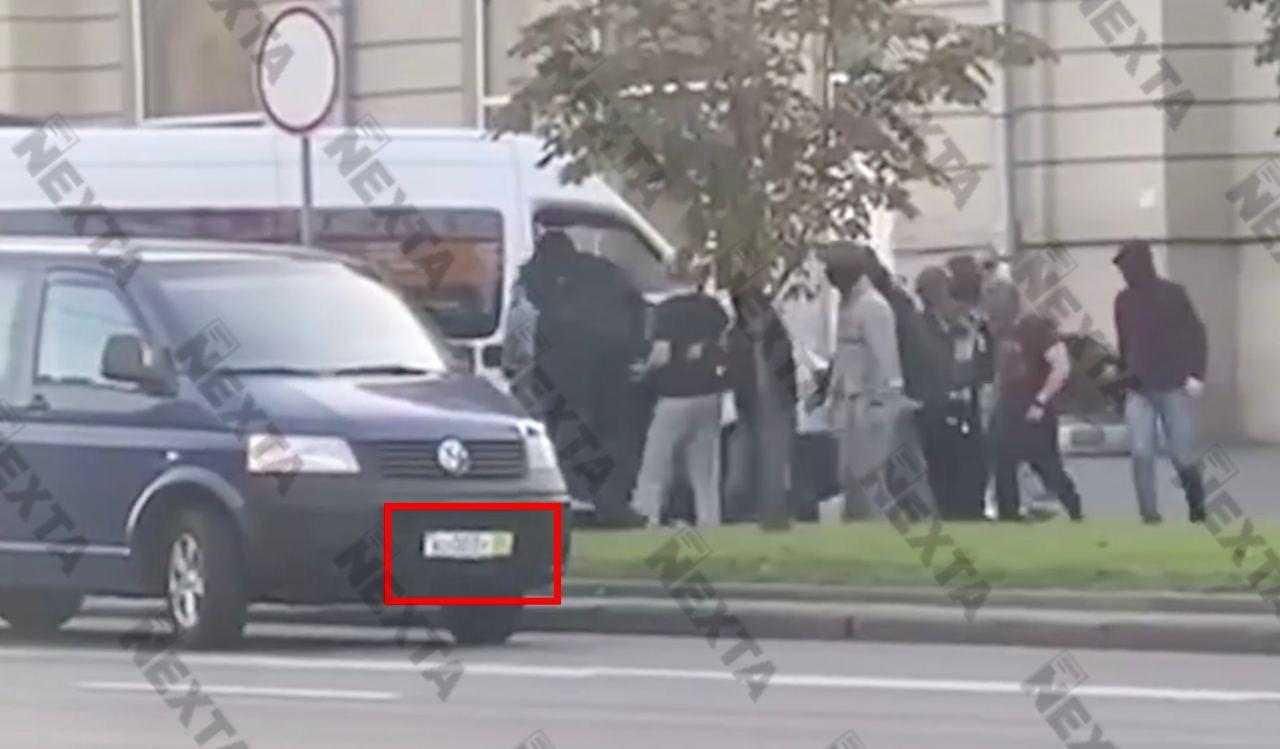 Во вчерашних зверствах в Минске участвовали и российские каратели