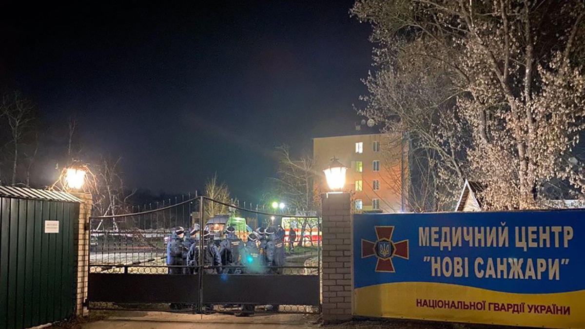 Евакуйована з Китаю українка показала свій номер у санаторії в Нових Санжарах