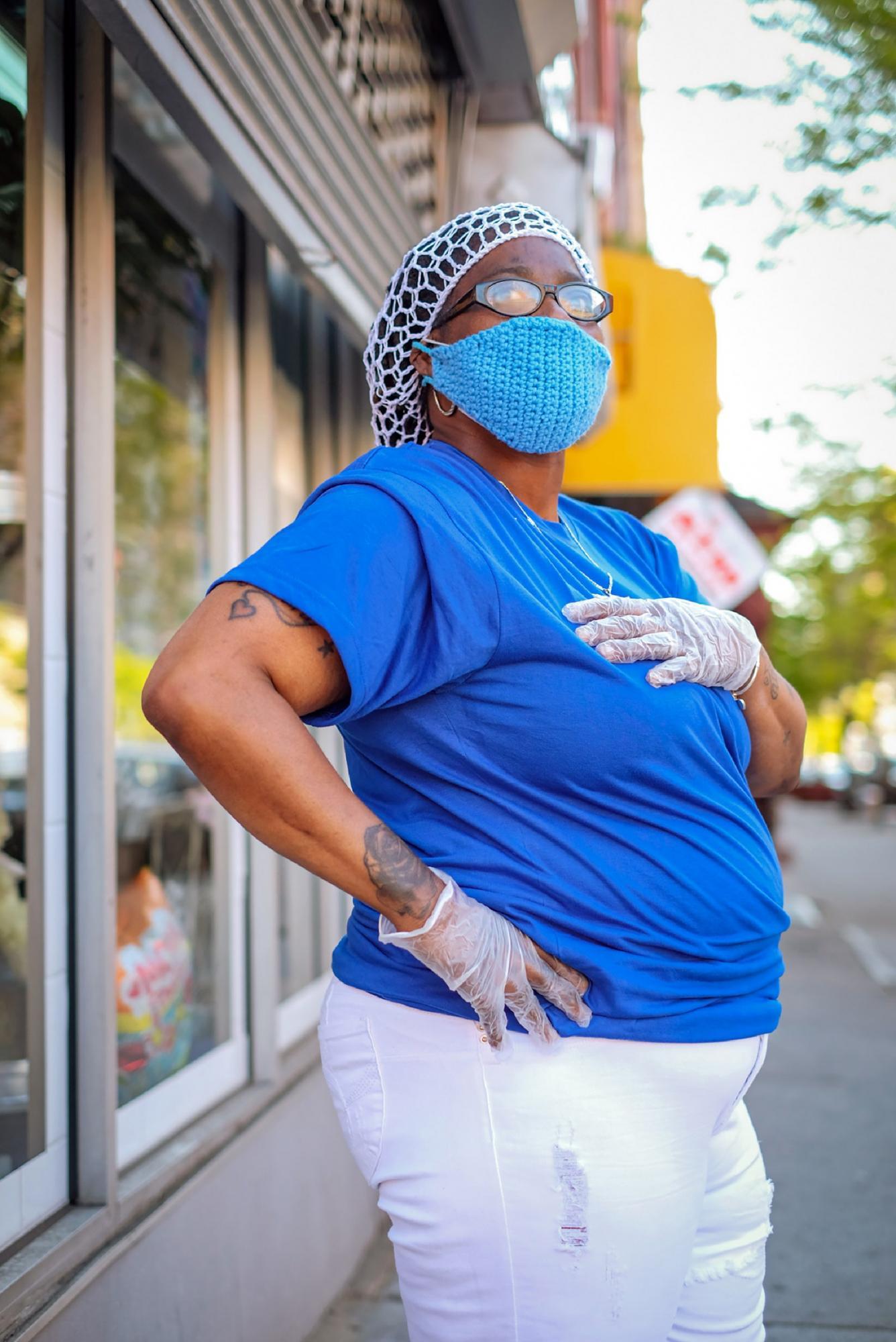 Незвичайні маски жителів Нью-Йорка
