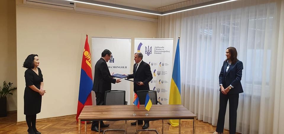 Україна Монголія безвіз