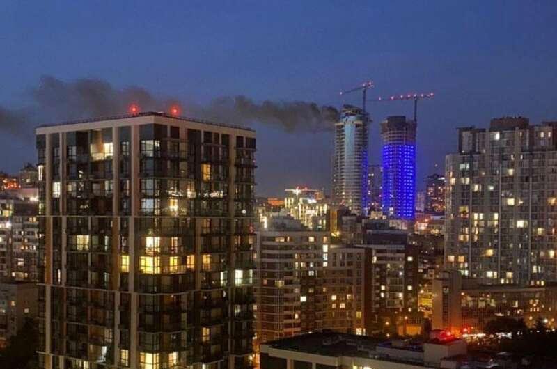 Рятувальники ліквідували загоряння у новобудові Taryan Towers у Києві.