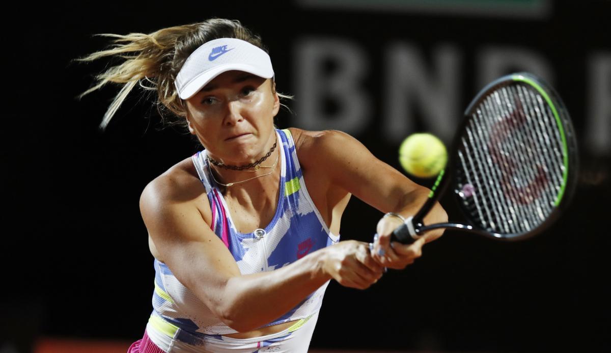 Світоліна обіграла другу поспіль росіянку на великому турнірі в Італії. ВІДЕО