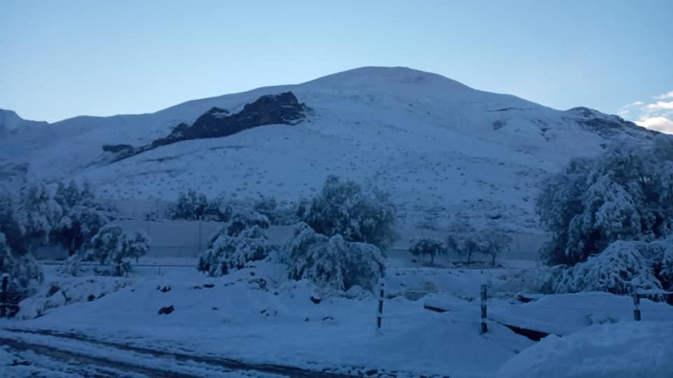 Самую сухую пустыню мира замело снегом. ФОТО