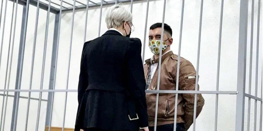 Минздрав Беларуси сообщил о состоянии политзаключенного Латыпова после попытки суицида в зале суда