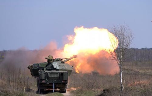 ЗСУ випробували чеську самохідну гаубицю Dana-M2. ВІДЕО