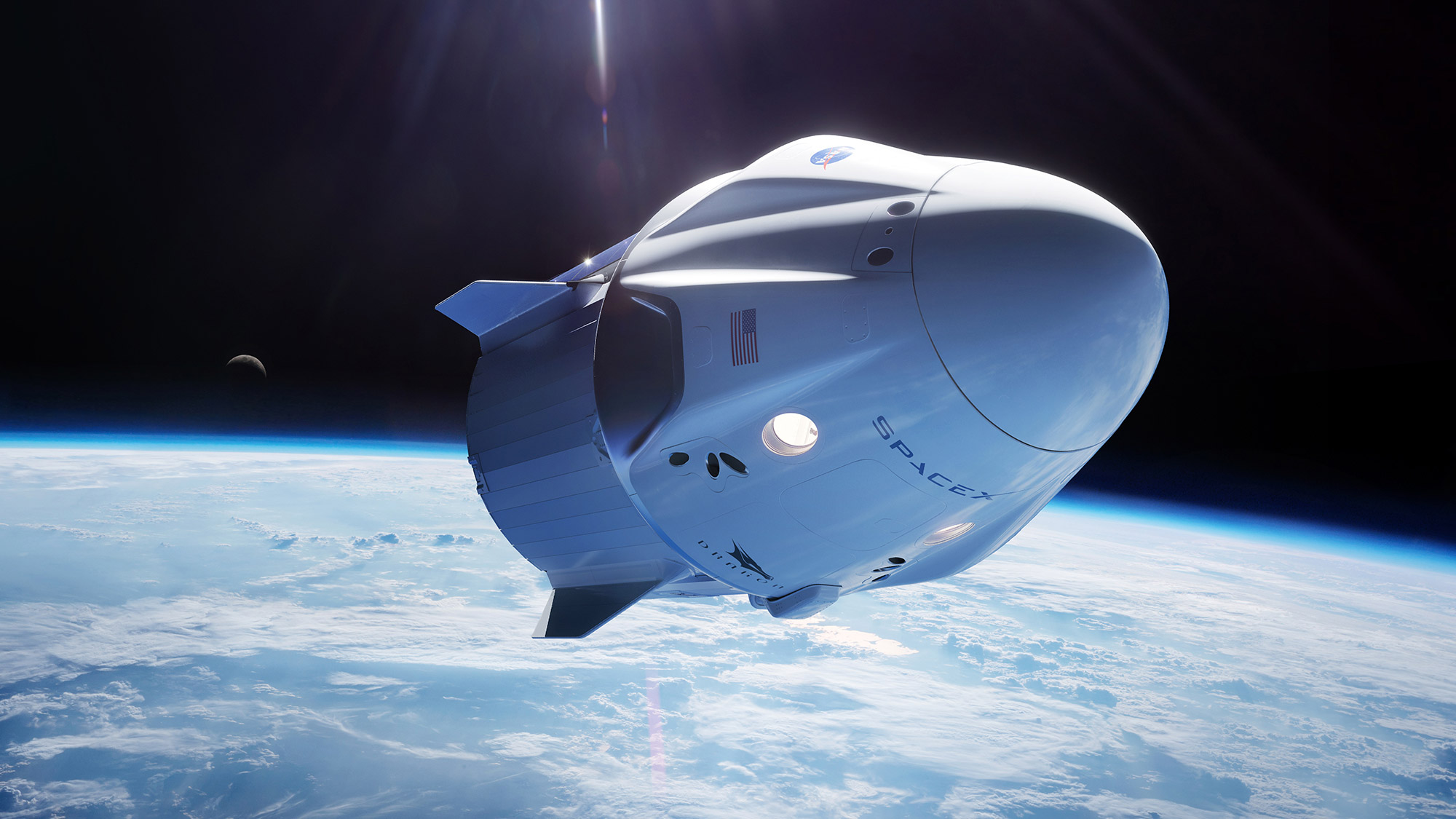 SpaceX запланувала свій перший політ з екіпажем