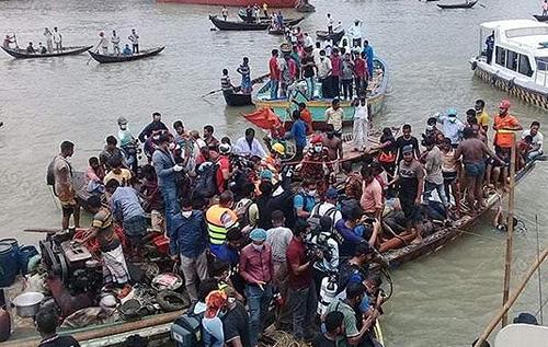 В Бангладеш 30 человек погибли после опрокидывания лодки. ФОТО
