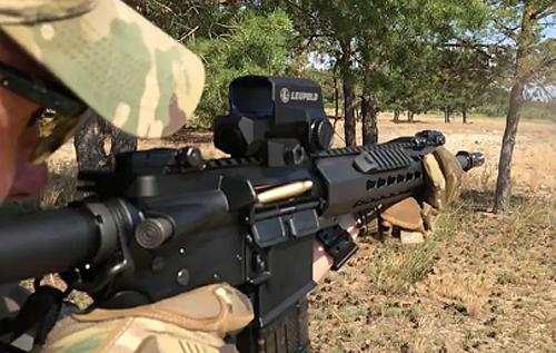 Спецназ прикордонної служби показав в дії нові штурмові гвинтівки. ВІДЕО