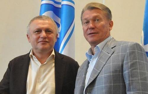 """""""Надо просто совесть иметь"""": Суркис жестко ответил на выпады Блохина после назначения Луческу. ВИДЕО"""