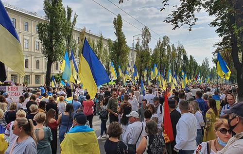 У Києві проходить Марш захисників. ФОТО. ВіДЕО