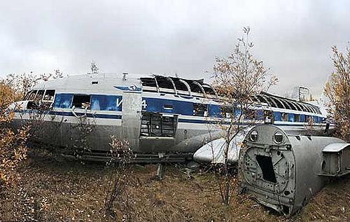 В РФ на кладбище самолетов обнаружили личный борт Никиты Хрущева