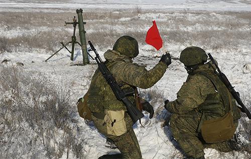 Армия РФ развернула маневры в шести западных регионах страны