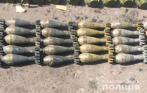 У Маріуполі правоохоронці виявили склад боєприпасів. ФОТО