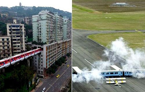 Шесть впечатляющих мест, куда человек сумел втиснуть железную дорогу. ФОТО