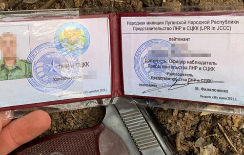 Контррозвідники СБУ затримали найманця РФ, який розвідував позиції ЗСУ під виглядом розмінування. ВІДЕО
