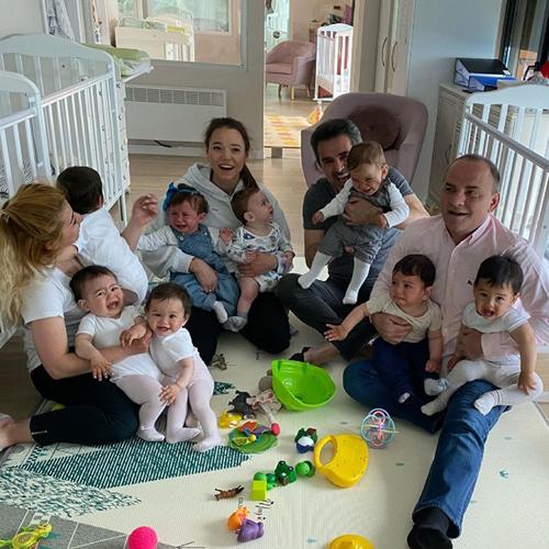 В Грузии супруги за год родили 20 детей от суррогатных матерей