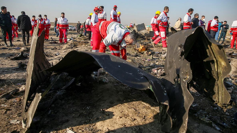 Авіакатасрфора в Ірані