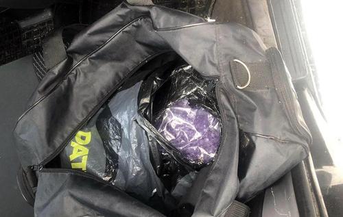 На Київщині поліція затримала наркокур'єра, в сумці якого було п'ять кілограмів психотропних речовин