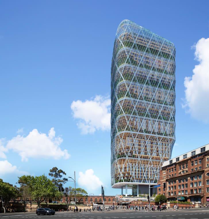 В Сиднее построят самый высокий в мире небоскреб из древесины. ФОТО