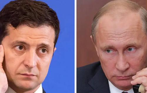 Зеленський зателефонував Путіну та обговорив із ним перемир'я на Донбасі і зміни в Конституції України