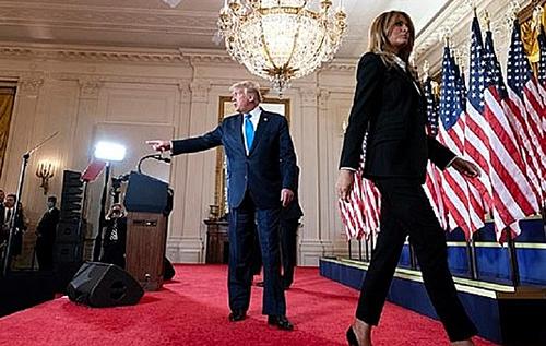 Мелания Трамп с нетерпением ждет момента, когда сможет подать на развод