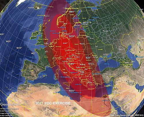 Ученые смоделировали столкновение астероида с Землей: ядерные бомбы не спасут, половина Европы будет разрушена