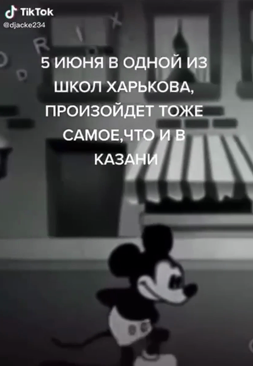 """У Харкові підліток у TikTok погрожував улаштувати в школах теракт, """"як у Казані"""". ВІДЕО"""