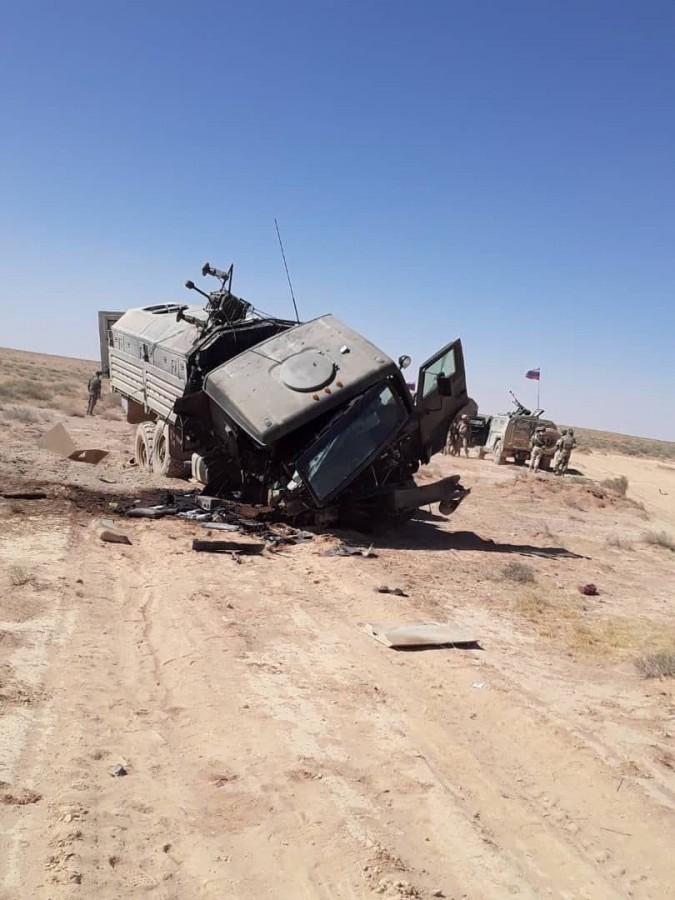 В Сирии погиб подполковник ВС РФ: бронированный КАМАЗ и комплекс РЭБ не уберегли. ФОТО