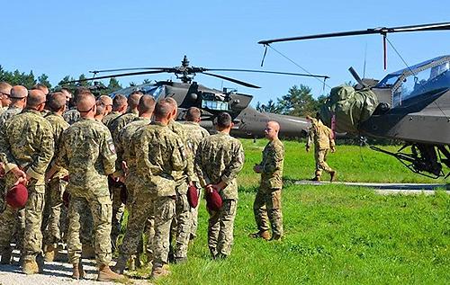 Українські десантники прибули в Німеччину на навчання НАТО