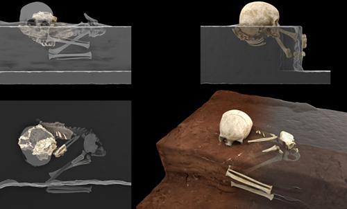 Археологи обнаружили древнейшее в Африке человеческое захоронение. ФОТО