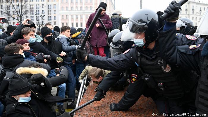 Акция за Навального 21 апреля может определить будущее России – Deutsche Welle