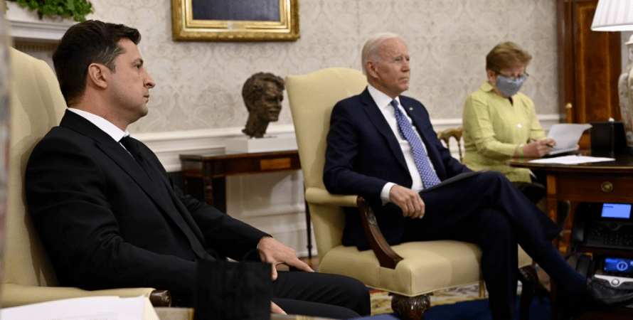 США и Украина опубликовали совместное заявление во время встречи Зеленского и Байдена