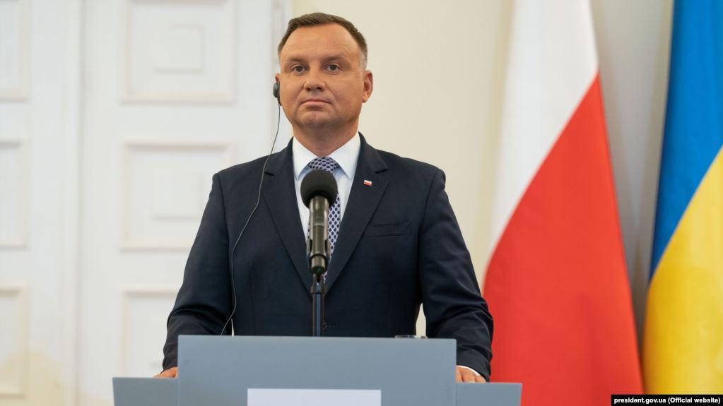 Дуда на інавгурації згадав про Україну