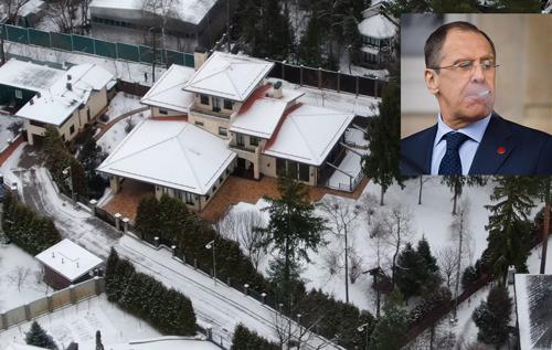 У министра иностранных дел России Сергея Лаврова нашли недвижимость стоимостью более 600 млн руб