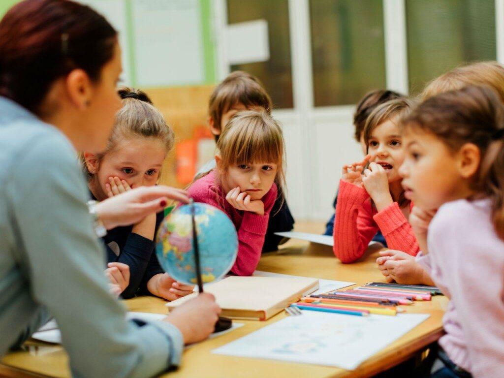 Картинка школа дети и учителя