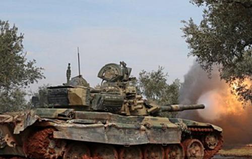 В Сирии повстанцы захватили российский танк Т-90А и бросили его в бой против армии Асада