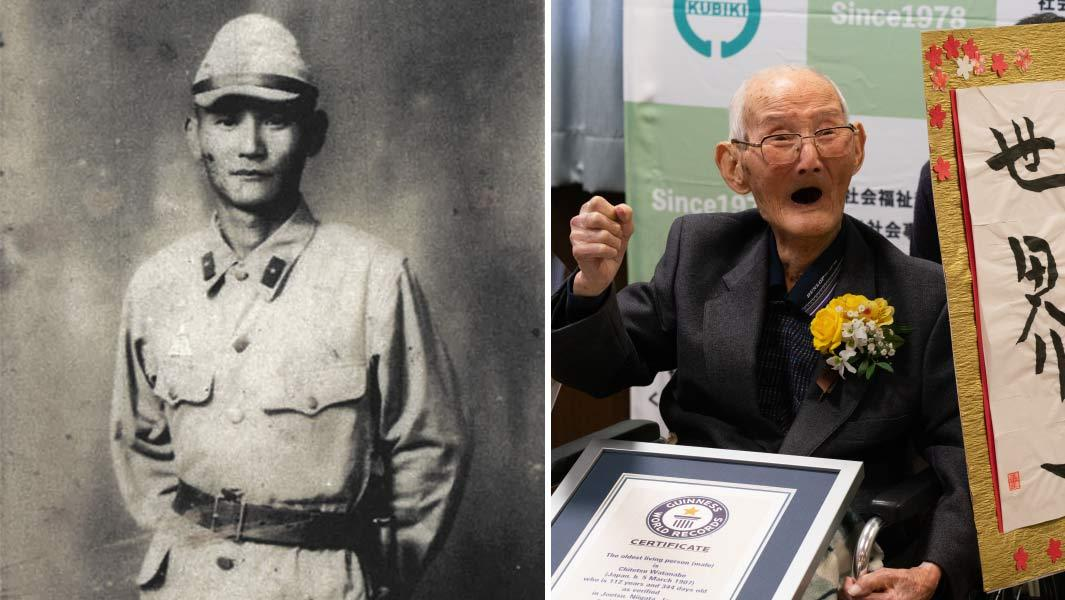 Японія, найстаріший, чоловік, помер