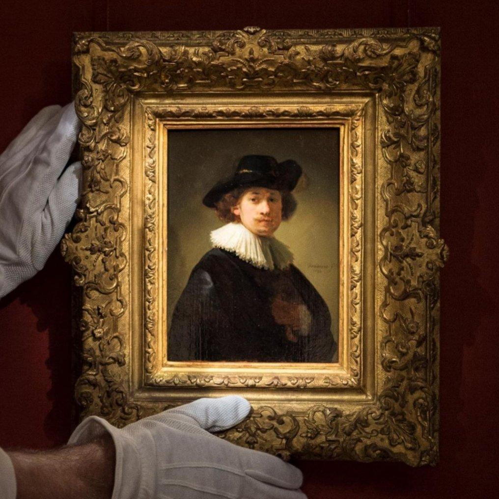 Автопортрет Рембранта