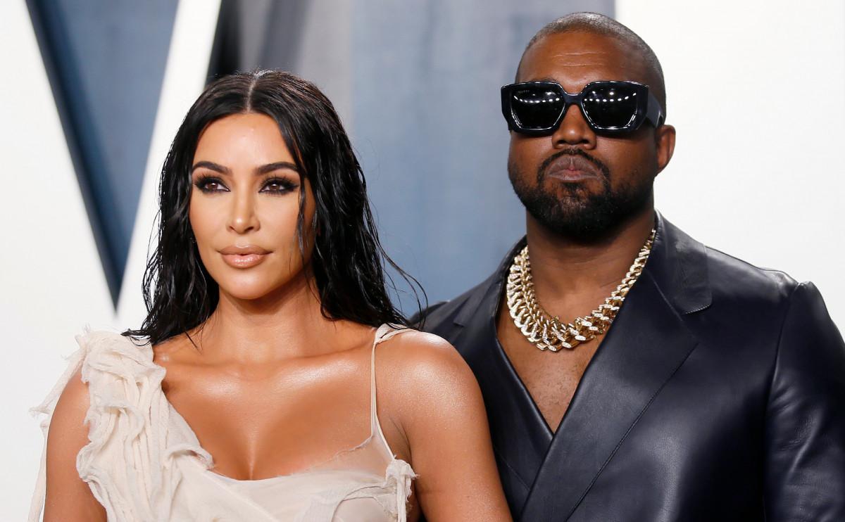 Ким Кардашьян официально подала на развод с Канье Уэстом