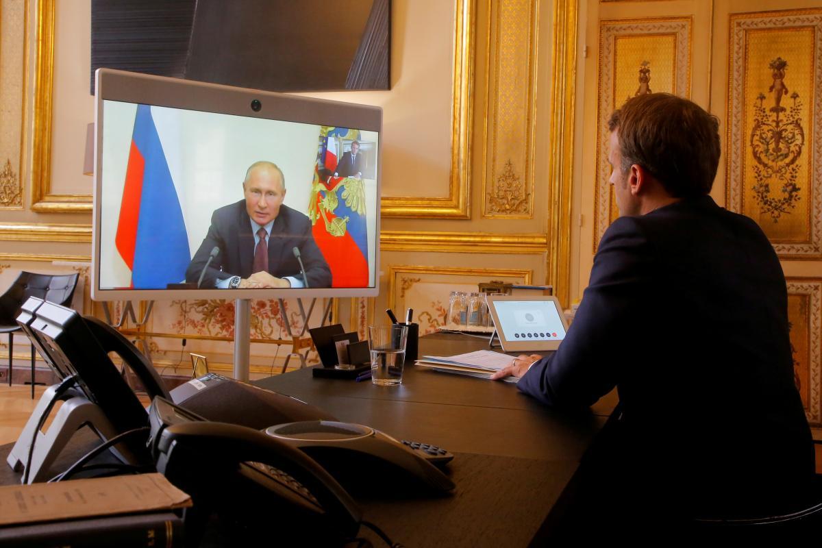 Макрон позвонил Путину и напомнил об Украине