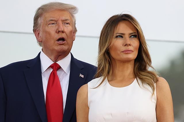Трамп знову зібрався у президенти, Меланія – проти