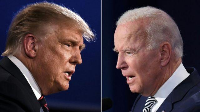 """""""Упадет за несколько секунд"""": экс-президент США Трамп выразил желание провести боксерский бой против Байдена"""