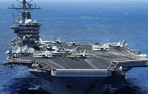 """Авианосная группа ВМС США спешит на """"разборки"""" между Турцией и Грецией"""