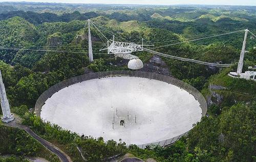 После серии ЧП всемирно известный радиотелескоп Arecibo разберут