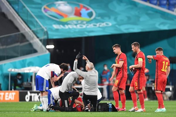 Сборная Бельгии отказалась лечить своего игрока в российской больнице