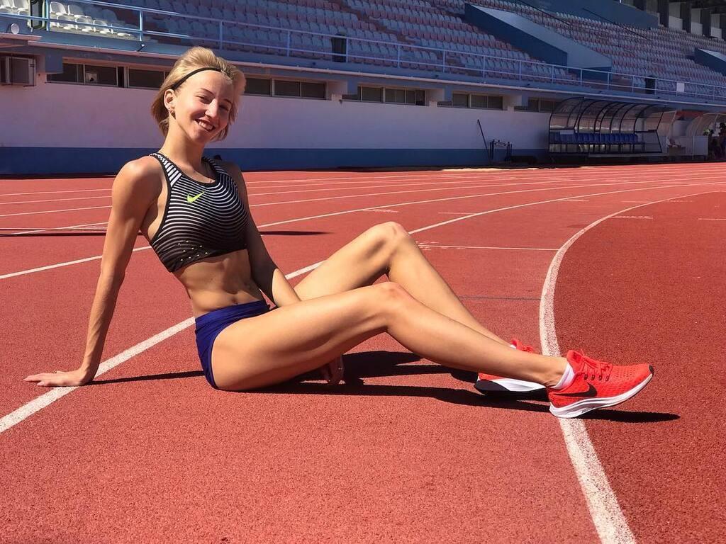 Украинская спортсменка отдыхает в оккупированном Россией Крыму