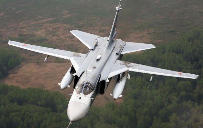 У Росії розбився бомбардувальник Су-24: льотчики встигли катапультуватися