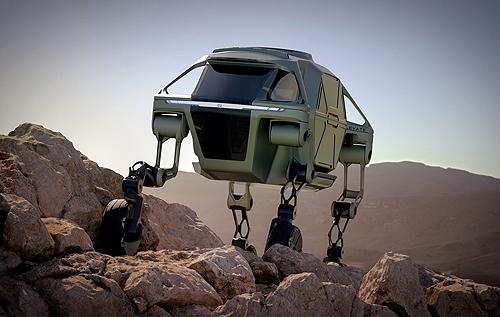 """Hyundai презентовала концепт """"шагающих"""" авто – им не страшны ни ямы, ни склоны. ФОТО"""